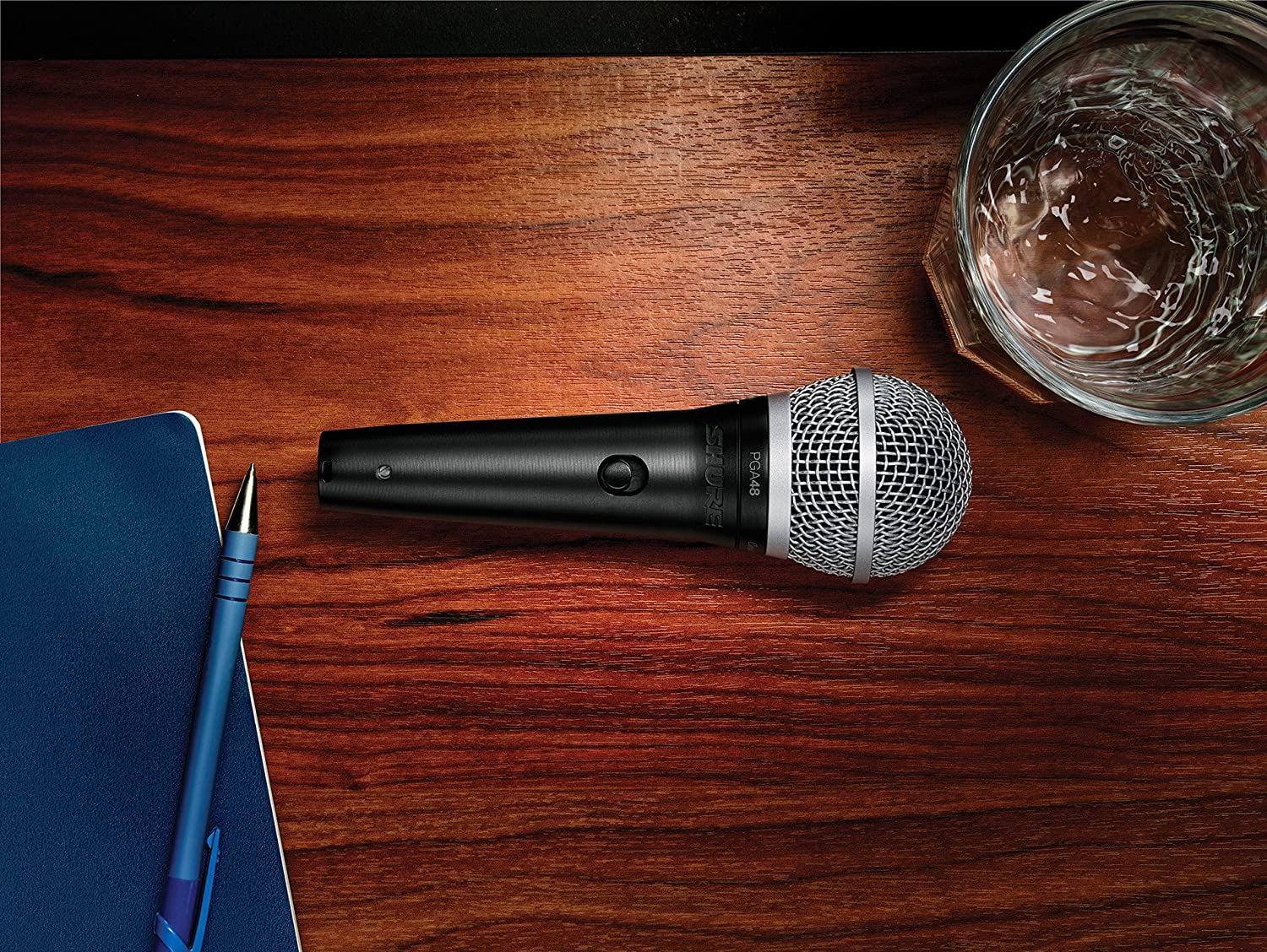 Shure PGA 48 Dynamic Vocal Microphone W/ 15′ XLR Cable