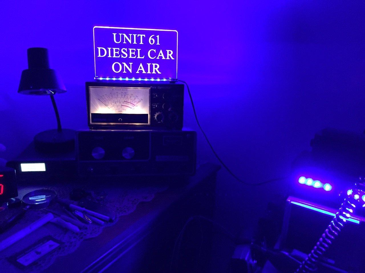 Doug. Unit 61 Diesel Car