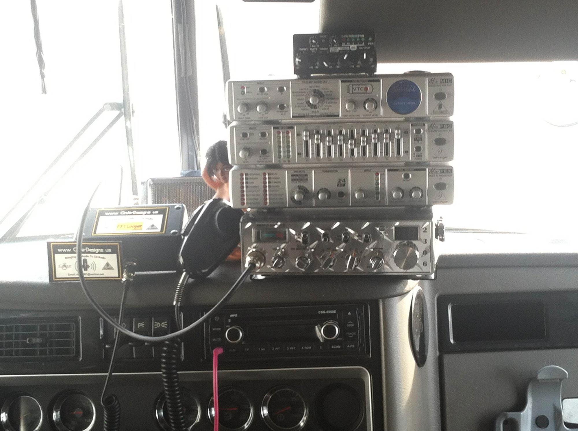 Rob B's Custom Mobile base station in Florida